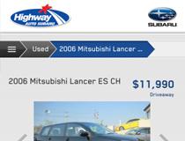 Highway Auto Subaru Mobile